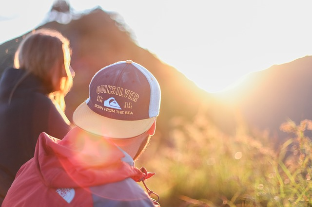 tramonto fidanzati